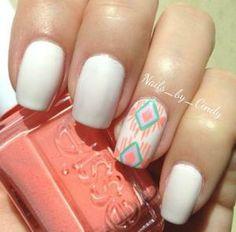 Aztec nails by savannah