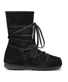 Love this Black Caviar Suede Moon Boot on #zulily! #zulilyfinds