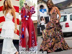 Vestidos Verão 2017 longo