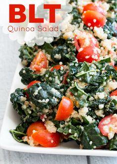 BLT Quinoa Salad #KRAFTrecipes
