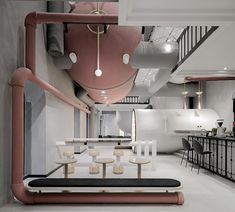 ideas lab in shanghai references vintage subversive technology by x+living