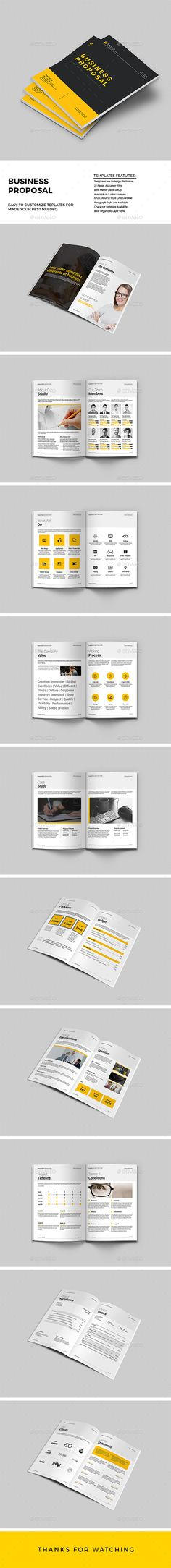 Web Design Proposal Proposals, Stationery and Projects - what is in a design proposal