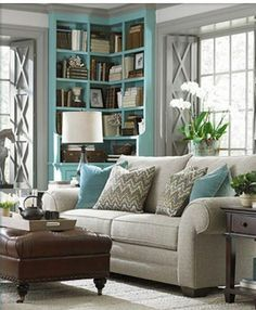 how to add color to a room