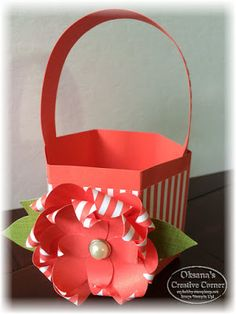 StampWithOksana.blogspot.com;  Oksana's Creative Corner: Easter Basket Instructions