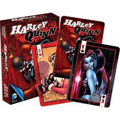 Homewares - DC Comics Harley Quinn Comics Playing Cards
