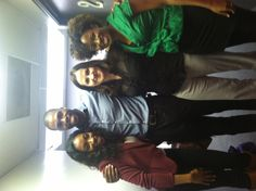 Ego, Donovan, Casey and Keyla representing BBR at a Kathy Knowles audition!