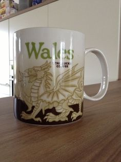 Wales Starbucks City Mug