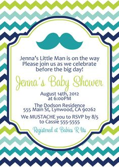 Little man mustache invitation printable mustache bash for mustache baby shower invitation 1000 via etsy filmwisefo
