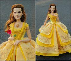 Blanche Neige et les Sept Nains [Disney - 202?] - Page 3 D02327f7591051f5cf9763253a367ff7--belle-dress-doll-repaint