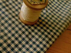 Antique Indigo Blue Cream Primitive Homespun Check Gingham Cotton Fabric 1900 | Antiques, Linens & Textiles (Pre-1930), Fabric | eBay!