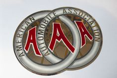 THE AMERICAN AUTOMOBILE ASSOCIATION - THIS IS A SPECIAL STICKER PRODUCED ONLY IN 1992 FOR THE 90th YEAR OF THE AAA