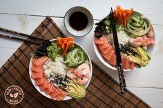 Japanse sushi bowl