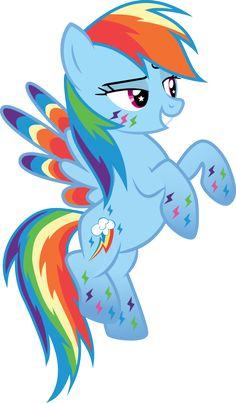 Rainbow Power Rainbow Dash by benybing on deviantART