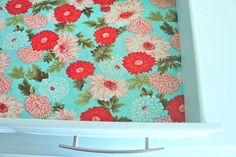 Looking for a high-impact, low-cost project to implement in your house? You've got to stop by and learn how to create fabric wallpaper.