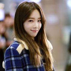 #Taeyeon #SNSD #cute #airport