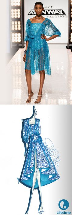 Kini's look from Project Runway All Stars was GORGEOUS!