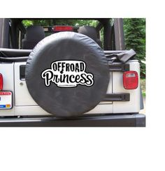All Things Jeep - Off-Road Princess Black Spare Wheel Cover