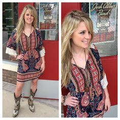Perfect #dress for Austin City Limits this weekend! — at Southern Thread @ The Domain.