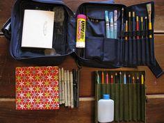 journal supply kit: etsybooks.blogspot.com/2009/04/journal-keeping-supply-kit...