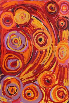 Barbara Mbitjana Moore - 'Ngayuku ngura - My Country' - Outstation Gallery - Aboriginal Art from Art Centres -not a quilt, but could be...