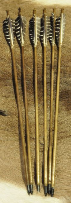 Traditional Target Arrows - from North Wood Traditional Archery