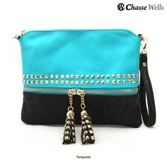 I found this amazing Chasse Wells Sundara Studded Rock Star Messenger Bag & Wristlet at nomorerack.com for 75% off. Sign up now and receive 10 dollars off your first purchase