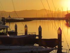 Sunset, Brickyard Cove Feb 2015
