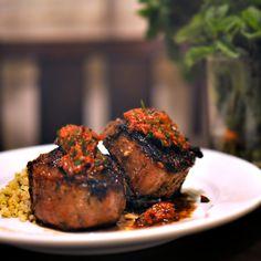 Sunday Supper: Lamb Loin Chops & Minted Quinoa