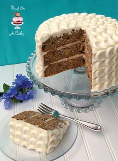 Bird On A Cake: Hummingbird Cake with Petal Tutorial - any cake with pineapple is worth trying.