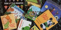Books for toddlers you can read again and again without losing your mind. From mindthebear.com