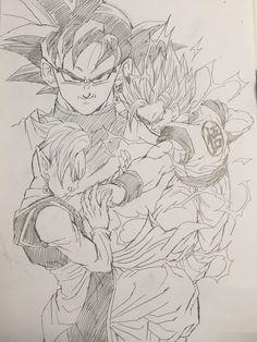 Black Goku - DBZ Fanart