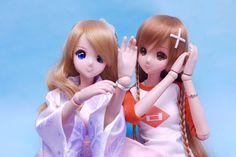 Smart Doll Kizuna Yumeno and Mirai Suenaga by yukinaocheer