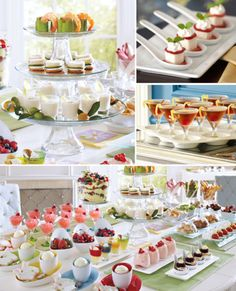 Tasting menu? http://www.pier1.com/tasting-party-ideas/tasting_party,default,pg.html