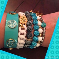 Simply Turquoise Stack!