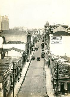 1940 - Rua Dom José de Barros. Acervo fotográfico do Arquivo Histórico de São…