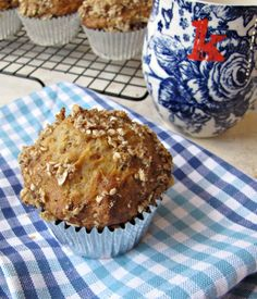Healthified Carrot and Apple Muffins - Katie at the Kitchen Door Quinoa Muffins, Carrot Muffins, Muffin Recipes, Baking Recipes, Healthy Recipes, Healthy Breakfasts, Healthy Sweets, Healthy Meals, Healthy Muffins For Kids