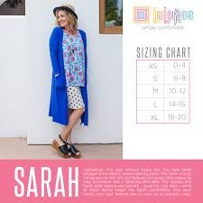 Image result for lularoe sarah sizing