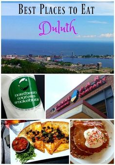 Check out the best places to eat in Duluth! Best Places To Eat, Places To Travel, Amazing Places, Duluth Minnesota, Grand Marais Minnesota, Round The World Trip, The Beautiful Country, Lake Superior, North Shore
