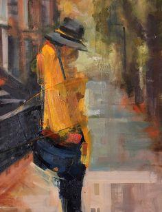 "Saatchi Art Artist: Fanny Nushka Moreaux; Oil 2014 Painting ""31 mars (SOLD) """