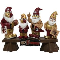 Florida State Seminoles (FSU) Fan Gnome Bench