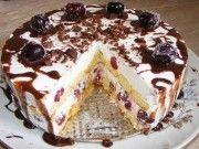 Nepečený piškotový dort s tou nejjednodušší přípravou a fantastickou chutí. Nezůstane žádny kousek