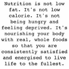 Since it's Meal Prep Sunday this quote fit pretty well Being healthy and nutritious is about feeding your body whole nutrient dense foods to keep it working the way it should be. Constantly nourishing your body can do so many things mentally and physically for you and it doesn't have to be boring! One of the things I hear from people is that eating healthy is difficult and I only hope that at some point they realize how easy and delicious it can be! #mealprepsunday #food #foodie #healthy…