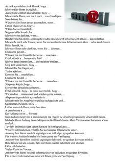 Email német German Grammar, German English, German Language Learning, Learn German, I School, Germany, German Language, Knowledge, Languages