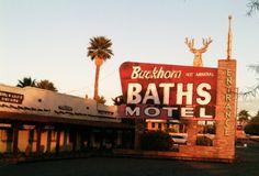 Buckhorn Baths Motel (now abandoned) in Mesa, Arizona