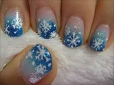 winter nail designs - Google Search