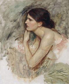 John William Waterhouse  Study for the sorceress  1911