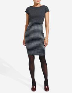 Menswear Mix Dress   Women's Dresses   THE LIMITED $89.90