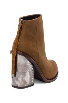 Jeffrey Campbell Reverb Bootie in Brown £107.66
