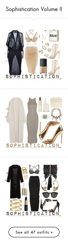 """Sophistication Volume II"" by adswil ❤ liked on Polyvore featuring UNIF, LOVE SEX MONEY COLLECTION, Shoe Cult, River Island, NARS Cosmetics, ASOS, M2Malletier, Christian Louboutin, Givenchy and Zara"