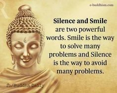 Keep smiling silently